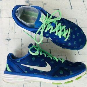 Nike Dual Fusion TR Running Shoes Polka Dot Blue